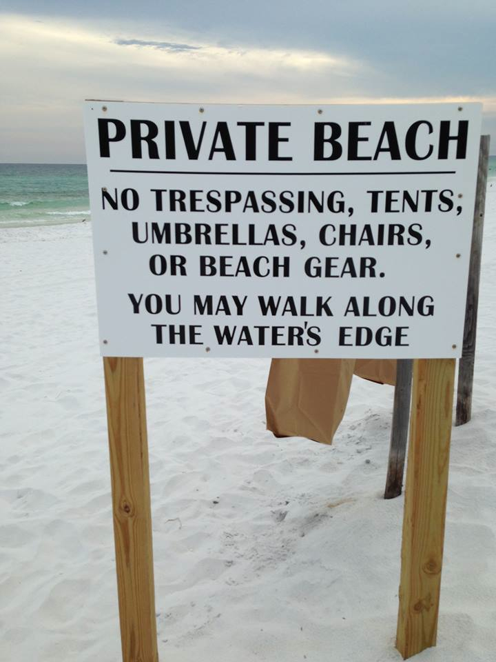 Current Opportunities to Support Public Beach Access in Walton County